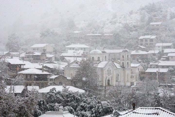 Погода на Кіпрі в грудні.