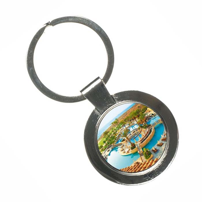 Keychain with Cyprus