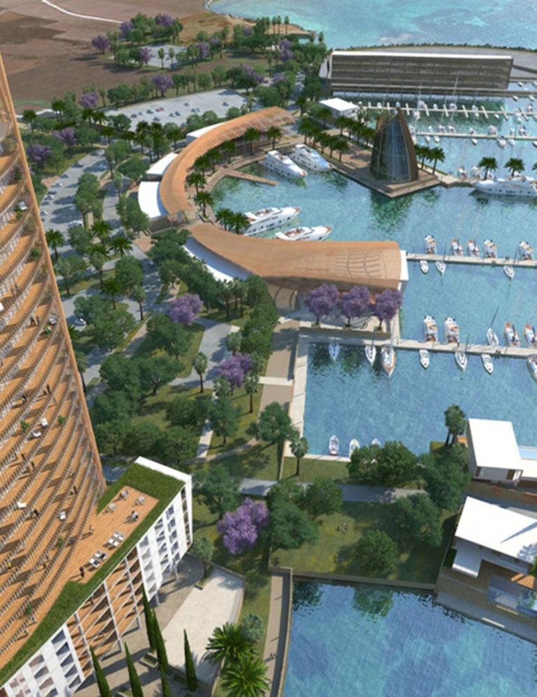 План новой гавани Айя-Напы
