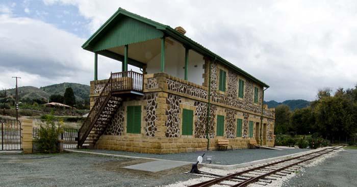 Железнодорожный музей Кипра.