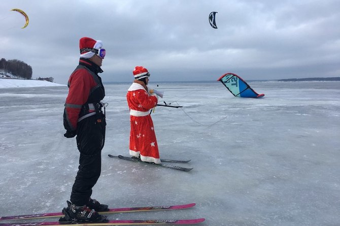Cheboksary Santas are young and athletic!